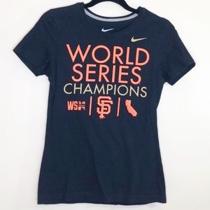 Nike SF Giants World Series t-shirt black SZ M
